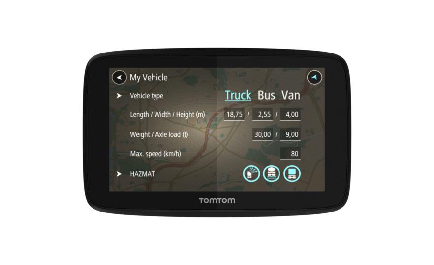 GPS-навигатор TOMTOM GO Professional 520 WiFi EU ( бессрочное обновление )