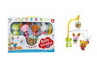 Музыкальная подвеска-карусель мобиль Baby Pardise маленькая Beiying Toys 648A-38 Разноцветный