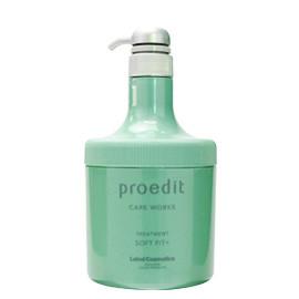 Lebel Proedit Soft Fit + Treatment 600 мл. Маска для глубокого увлажнения сухих и непослушных волос