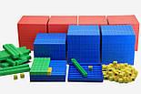 """Математичний куб, Набір """"Одиниці об'єму"""", пластик 121 частини, фото 2"""