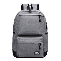 Рюкзак Kronos Top с Usb Серый
