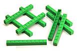 """Математичний куб, Набір """"Одиниці об'єму"""", пластик 121 частини, фото 4"""