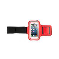 Армбенд, спортивный чехол Iphone 6 plus, красный