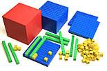 """Математичний куб, Набір """"Одиниці об'єму"""", пластик 121 частини, фото 7"""