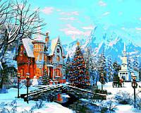 Картины по номерам 40×50 см. Зимний пейзаж Художник Доминик Дэвисон, фото 1