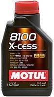 Синтетическое моторное масло MOTUL 8100 X-cess 5/40 ✔ емкость: 1л.