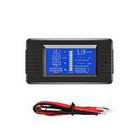 PZEM-013 10A Батарея Тестер Напряжение постоянного тока Ток Мощность Емкость Внутреннее и внешнее сопротивление Измеритель остаточной электро -
