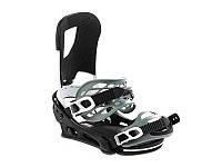 Кріплення для сноуборду Burton Cartel Re:Flex Black / White 2020, фото 1