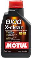 Синтетическое моторное масло MOTUL 8100 X-clean 5/40 ✔ емкость: 1л.