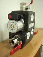 Ладдомат (LADDOMAT) 21-100, Термосмесительный узел (контроль t обратной воды)