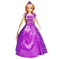 Интерактивная кукла Принцесса с пультом управления в фиолетовом платье Kronos Toys 5053E 34 см (tsi_36888)