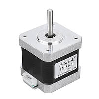 HANPOSE17HS440140ммNema17 Stepper Мотор 42 Мотор 42BYGH 1.7A 40N.cm 4-вывод. для ЧПУ 3D-принтер - 1TopShop
