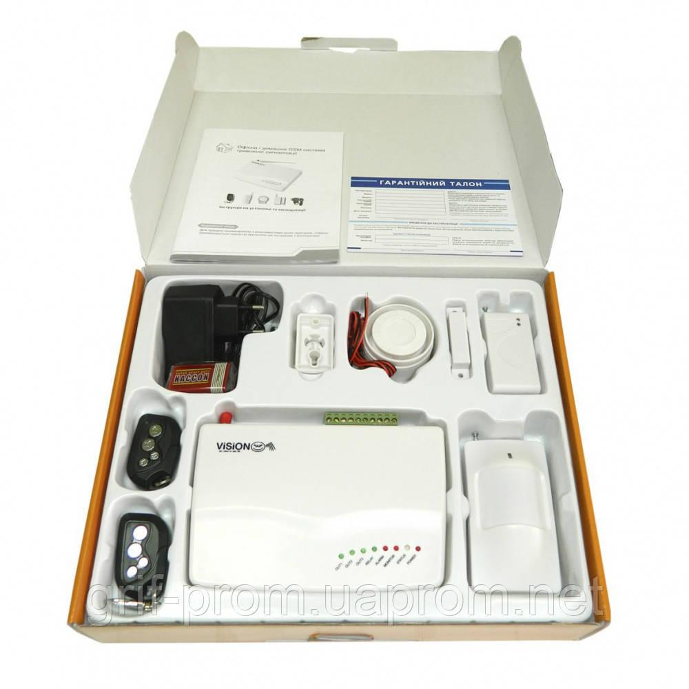 Система беспроводной GSM сигнализации Vision W07G - ГРИФ в Харькове