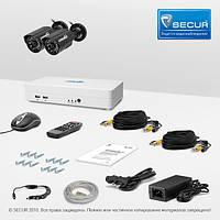 Комплект видеонаблюдения «установи сам» Страж Смарт-4 2У (УЛ-700К-2)