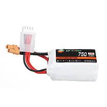 XF POWER 11.1 В 750 мАч 75C 3S Lipo Батарея XT30 Разъем для RC FPV Racing Дрон - 1TopShop, фото 3