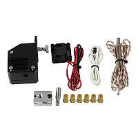 Dual Gear NF Цельнометаллический BMG Экструдер Bowden Dual Drive V6 Экструдер Набор для Prusa I3 3D-принтер-1TopShop