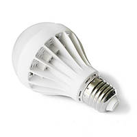 Лампа светодиодная 9w E27 теплый без упаковки