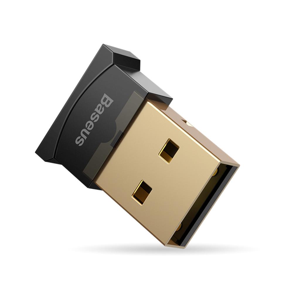 Baseus Mini USB Bluetooth V4.0 Приемник Адаптер для конвертера для планшетных компьютеров Мышь - 1TopShop