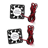 Anet® 2Pcs 4010 40 * 40 * 10мм 12V DC Бесколлекторный Вентилятор охлаждения с Провод для 3D-принтера RepRap Prusa i3 DIY-1TopShop