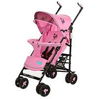 Коляска детская Bambi 1109-8-13P прогулочная Розовая (int_1109-8-13P)