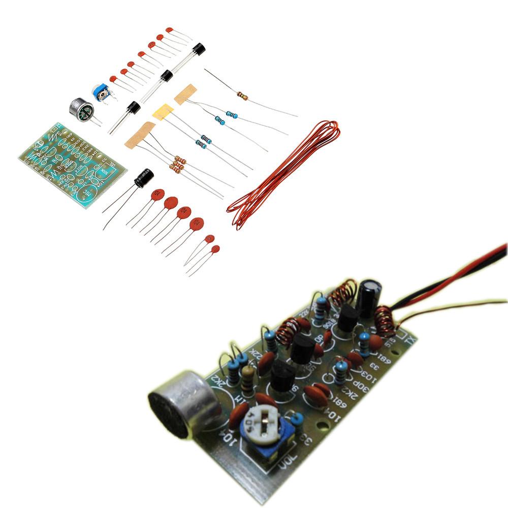 5шт DIY 3-трубная беспроводная Микрофон Набор Беспроводная Микрофон Модуль электронного производства Набор - 1TopShop