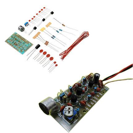 5шт DIY 3-трубная беспроводная Микрофон Набор Беспроводная Микрофон Модуль электронного производства Набор - 1TopShop, фото 2
