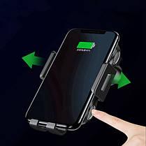 FLOVEME 10W Автоматическое зажимание Qi Беспроводное зарядное устройство Авто Для iPhone X Xs Max S9 Note 9 Xiaomi Mix 3 - 1TopShop, фото 2