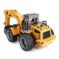 HuiNaToys15301/182.4G6CH Rc Авто Сплав экскаватор Инженерный автомобиль W / Light Sound Model - 1TopShop, фото 3