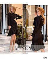 Женское платье черного цвета, фото 1