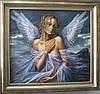 Красивая картина для декора и подарка Ангел