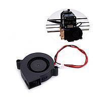 12 В 5015 50 * 50 * 15 мм Бесшумный Турбо вентилятор охлаждения для 3D-принтера Prusa i3 - 1TopShop