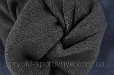Джинсы женские на флисе Пчела в хороших размерах 3XL - 5XL Джеггинсы зимние Ласточка - полубатал, фото 2