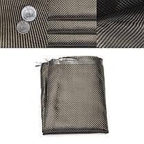 12 дюймов Ширина Углеродного волокна Ткань 3K Twill Plain Fabric Weave Sheet - 1TopShop, фото 2