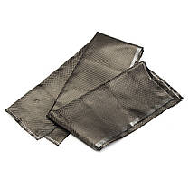 12 дюймов Ширина Углеродного волокна Ткань 3K Twill Plain Fabric Weave Sheet - 1TopShop, фото 3