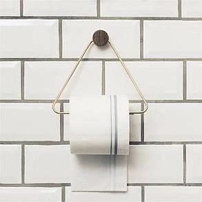 Triangle Туалетная бумага Полотенце Держатель для полки Ретро настенный крепеж для хранения ткани Рулонная стойка Ванная комната - 1TopShop, фото 2