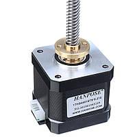 HANPOSE17HS4401-ST8x8Nema17Свинец Болт Stepper Мотор Линейные приводы 40 мм 1.7A 40N.cm 4 отведения 42 Мотор 100-500 мм Трапециевидный вывод Болт