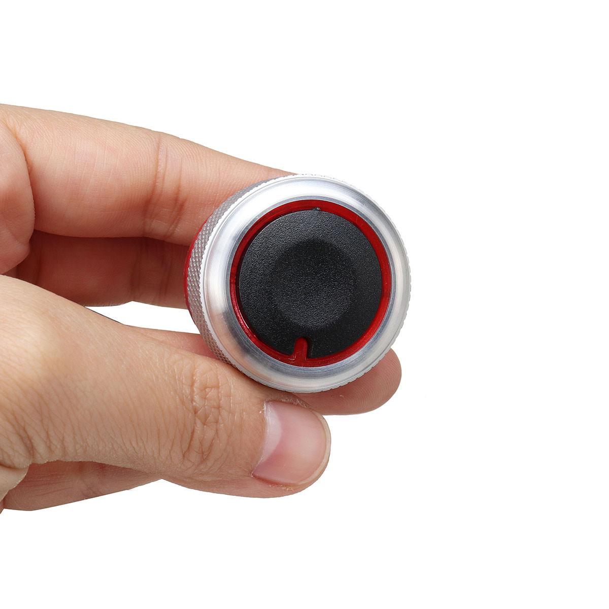 Черный серебристый 3шт Алюминиевый сплав Нагреватель Ручки Кнопки Набор для PEUGEOT 206 207 C2 - 1TopShop