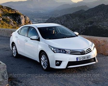 Брызговики модельные Toyota Corolla 2013- (Лада Локер)
