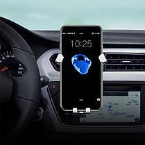Универсальная металлическая гравитация Автоматическая Замок Многоугольное вращение Авто Держатель для iPhone Мобильный телефон - 1TopShop, фото 2