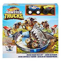 Набір «Небезпечне протистояння» серії «Monster Trucks» Hot Wheels