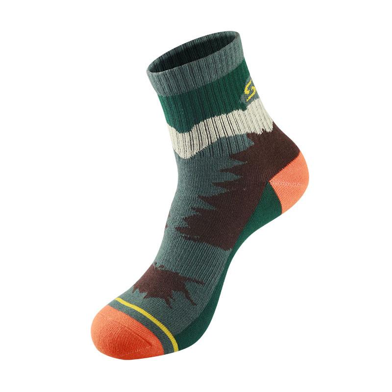 SANTOS007МужчиныНаоткрытомвоздухе Спорт Трубка Носки Толстый быстросохнущий носок Кемпинг Скалолазание Фитнес Бег Носки - 1TopShop