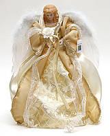 Верхушка на елку Ангел 40см золото, BonaDi NY14-152