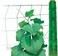 Сетка шпалерная для огурцов 1,7м х 100м, Agreen, зелёная