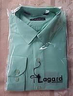 Рубашка для мальчика цветная мята.