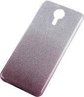 Чехол-накладка TOTO TPU Case Rose series Gradient Meizu M5 Black
