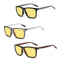 AORON Алюминиевые мужские поляризованные солнцезащитные очки для вождения Очки с антибликовым покрытием ночного видения Объектив - 1TopShop, фото 3
