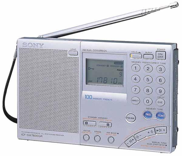 Радиоприемник Sony ICF-SW7600GR