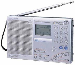 Радіоприймач Sony ICF-SW7600GR