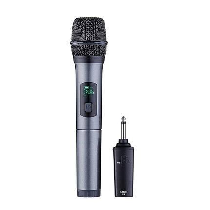 K380D 6.5 мм 10-канальная УВЧ цифровая беспроводная система Микрофон с One Микрофон - 1TopShop, фото 2