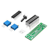 5шт. Зеленый LM3914 Батарея Модуль индикатора емкости LED Тестер уровня мощности Дисплей Board - 1TopShop, фото 2